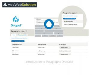 Introduction to Paragraphs Drupal 8