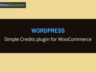 WP credit system with WooCommerce