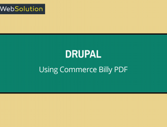 Commerce Billy PDF to generate invoices
