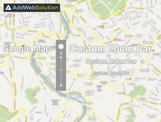 Guide to customize google map style and custom zoom bar